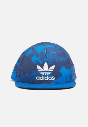 Adidas Originals Kids Boys Trucker Cap Accessories Blue
