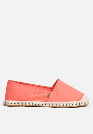 ONLY Espadrillos - Pink Pumps & Flats Coral
