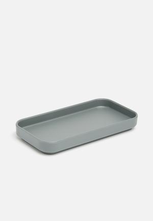 Umbra Scillae Amenity Tray Bath Accessories Charcoal
