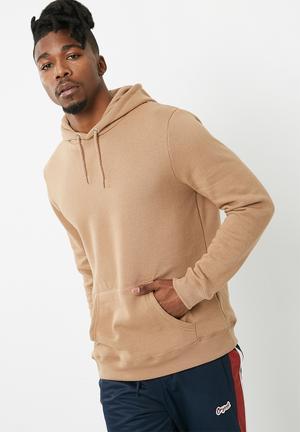 New Look Basic Long Sleeve Hoodie Hoodies, Sweats & Jackets Beige