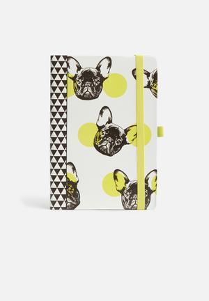 Mustard  Dog Notebook Gifting & Stationery