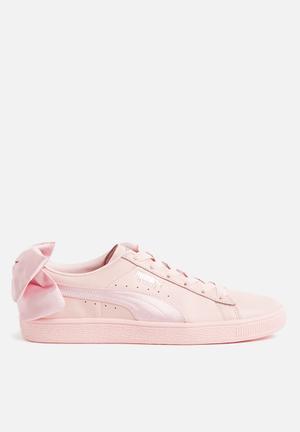 PUMA Basket Bow Sneakers Pearl-Pearl