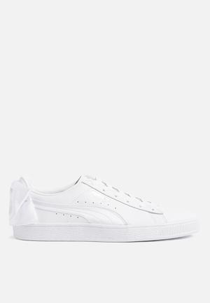PUMA Basket Bow Sneakers Puma White