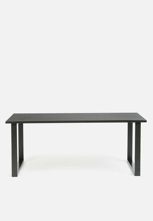 Present Time Fushion Coffee Table - Black  Black
