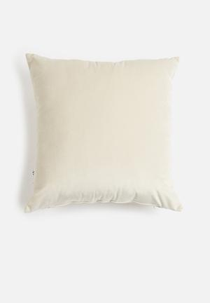 Hertex Fabrics Cushion Cover - Oyster 100% Polyester