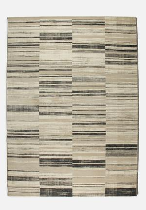 Fotakis Velvet Rug- Contrast Patch   Polypropylene With Cotton Backing