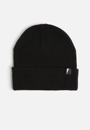 Cotton On High Top Beanie Headwear Black