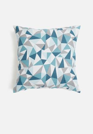 Grey Gardens Shattered Cushion Cover