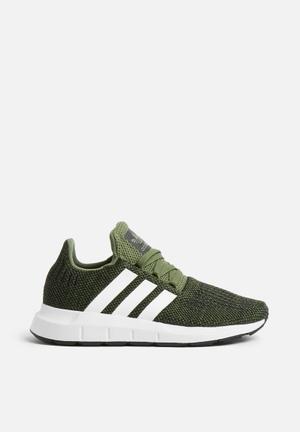 Adidas Originals Kids Swift Run C Shoes Green