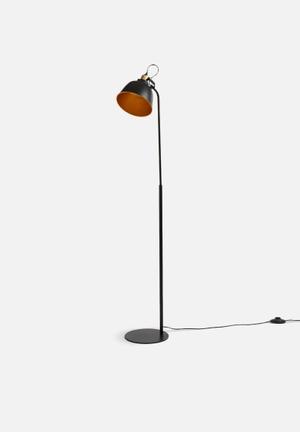 Sixth Floor Brooklyn Floor Lamp - Black Lighting
