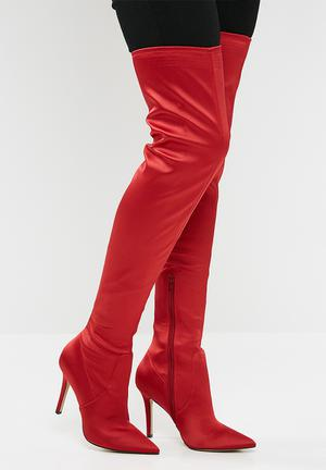 ALDO Sailors - Red Boots Red