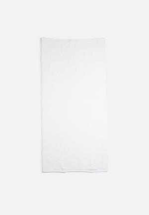 Linen House Reed Guest Hand Towel - White  550gsm 100% Cotton