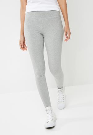 Converse Core Reflective Wordmark Leggings - Grey Bottoms Grey