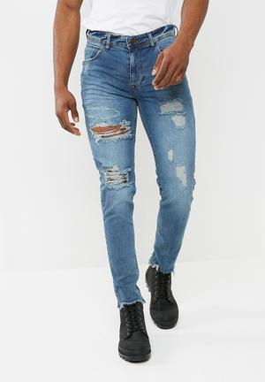 Basicthread Skinny Jeans - Blue Blue