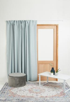 Sixth Floor Taped Curtain 100% Polyester