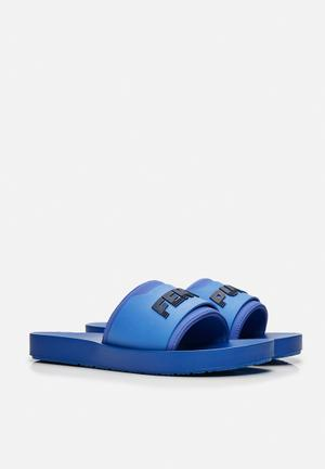 PUMA Select Fenty Surf Slide Sandals & Flip Flops Dazzling Blue / Evening