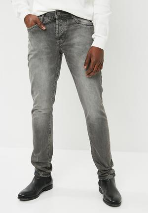 Stovepipe jeans - grey