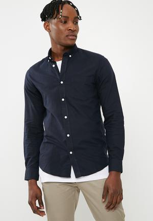 Alvaro oxford shirt - navy