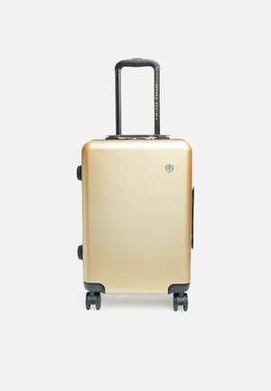Carry-on suitcase - gold