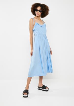 Free midi dress - blue