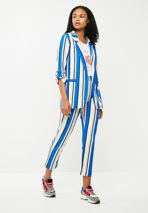 Vanilla co-ord blazer - blue