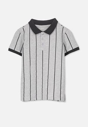 99979f9e2 Kenny polo - grey   black