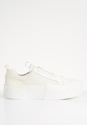 Rackam core women flatform - milk