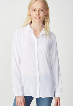 Rebecca summer shirt - white