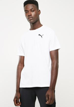 Active soft tee - white