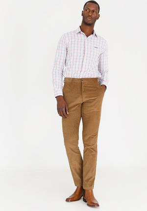 Robert Corduroy Trousers Taupe