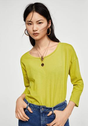 Long Sleeve T-shirt Lime