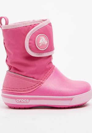 01b8fde4be2ad Crocband Gust Boot Mid Pink