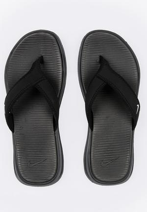 new style 78809 55e8a Nike Ultra Celso Thong Flip Flops Black
