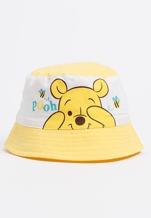 14760c29016 Winnie The Pooh Bucket Hat Yellow