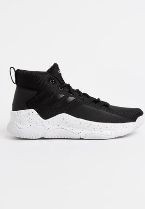 97614b15110 adidas Concrete A.D.T Sneakers Black and White