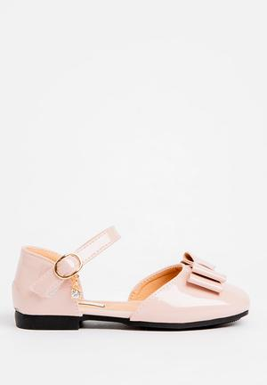 00d229798388c Bow Detailed Pump Pale Pink