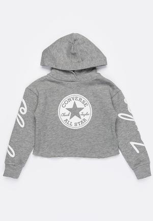 57691f2c019f Chuck taylor sig hoodie - grey