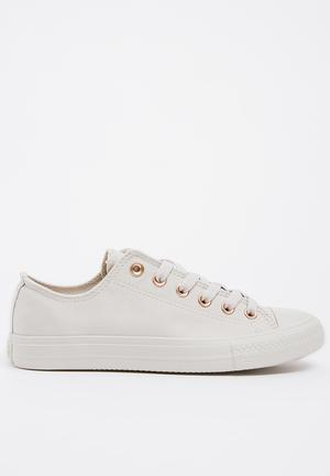 L viper fashion mono sneakers - grey