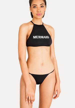 2d414cda78 Strappy Bikini Bottom Black