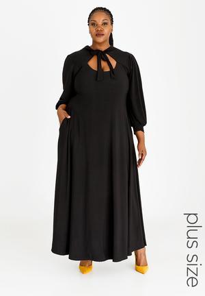 1f574dcdd57 Brandy Keyhole Dress Black