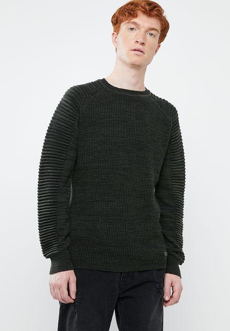 33ca2aa65f3 Black Knitwear for Men | Buy Black Knitwear Online | Superbalist.com