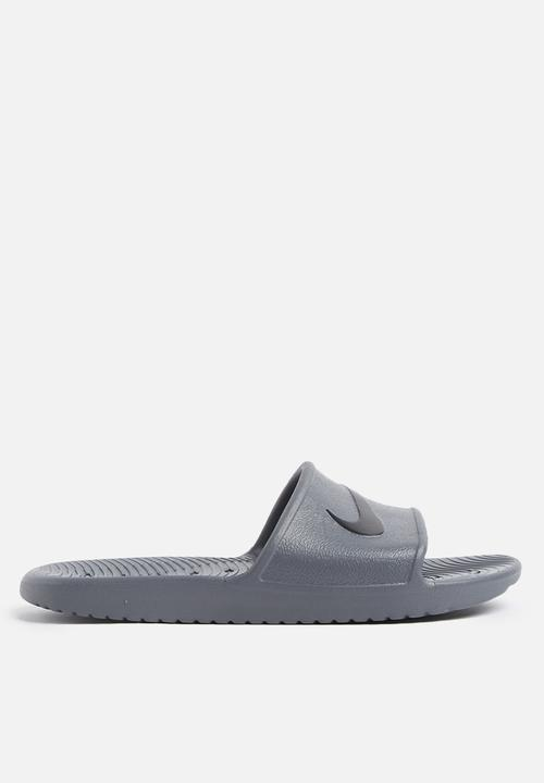 b02189fb451d Men s kawa shower slide - grey Nike Sandals   Flip Flops ...