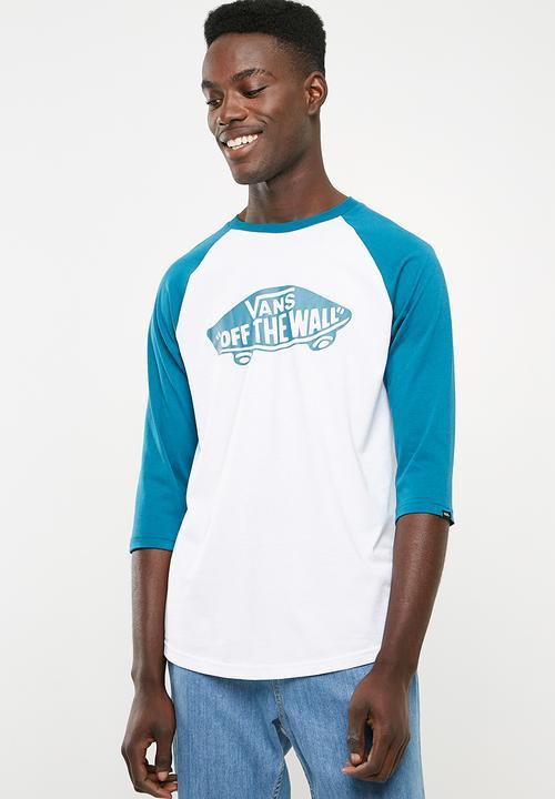 e027754294 OTW raglan tee- white  corair Vans T-Shirts   Vests