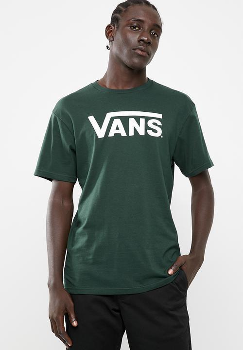 ec080a4350 Classic tee- darkest spruce  white Vans T-Shirts   Vests ...