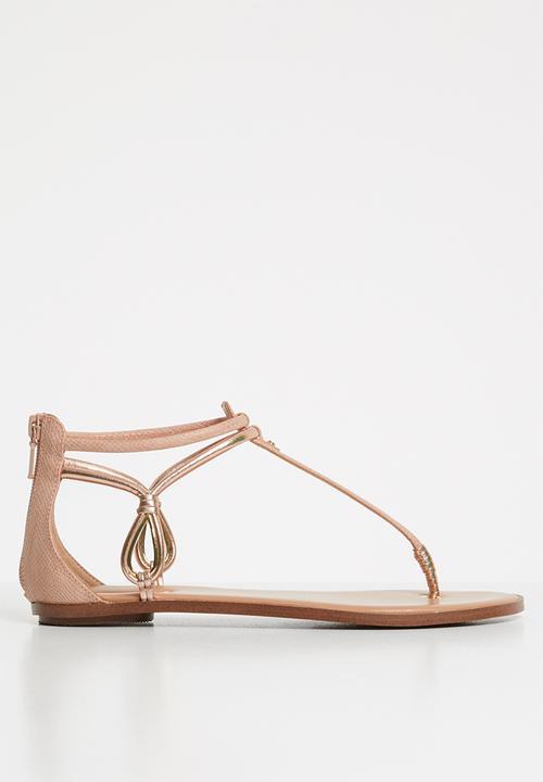 Galireni sandal - metallic miscellaneous ALDO Sandals   Flip Flops ...