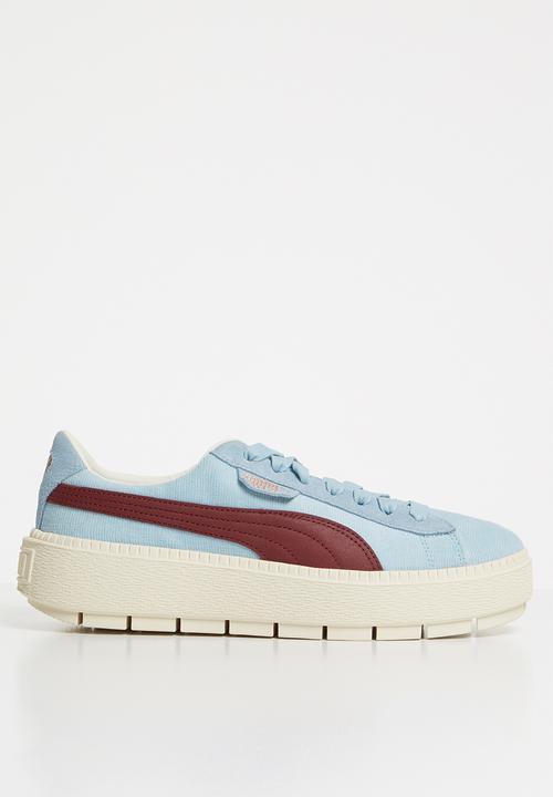 06e29c9d3ea5 Platform trace corduroy wn s - 366977 03 - blue PUMA Sneakers ...