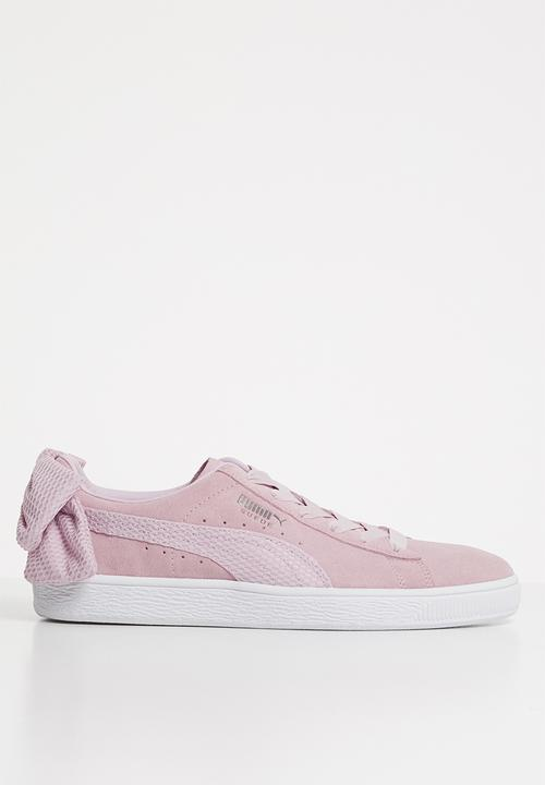 Suede bow uprising wn s - 367455 03 - pink PUMA Sneakers ... 121c09ad0