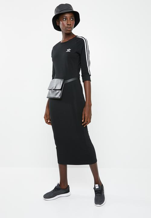 174b0f157dc 3 stripe dress - Black adidas Originals T-Shirts | Superbalist.com
