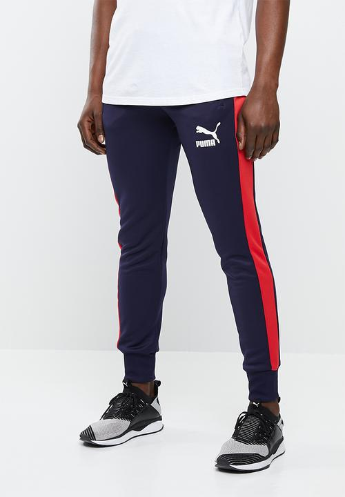 2f617b34e864b Classics t7 track pants - navy PUMA Sweatpants   Shorts ...