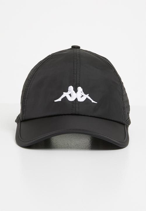 Apennine omni golf cap - black KAPPA Headwear  95f70bf2b94